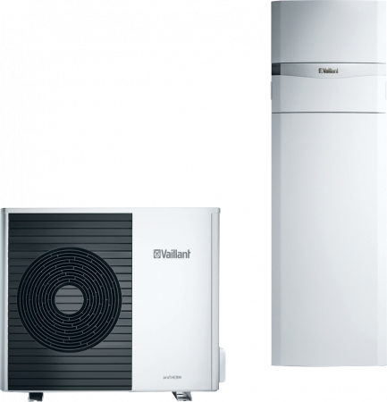 Vaillant aroTHERM plus mit uniTOWER